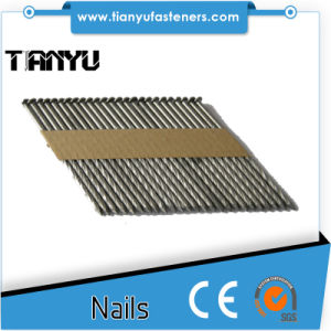 """(4000) 3"""" X. 120 Exterior Galvanized Ring Shank Clipped Head Framing Nails pictures & photos"""
