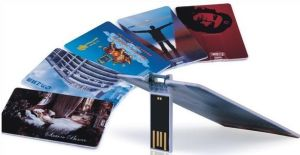 Real Capactiy Cheap Bulk Business Card USB Flash Drive/USB Plastic Cards Load with Data for Free pictures & photos