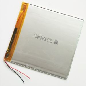 3.7V 4300mAh 32104106 Lithium Polymer Rechargeable Battery for DIY GPS PSP Power Bank Tablet PC MID DVD Pad pictures & photos