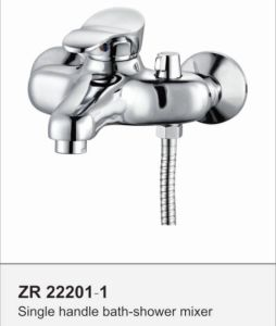 Single Handle Brass Bath Shower Mixer Taps Faucet Mixer for Bathroom pictures & photos