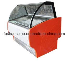 8 Pans 90cm Ice Cream Gelato Mini Display Freezer pictures & photos
