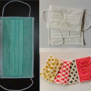 China Manufacter Disposable Nonwoven Surgical Face Mask with Inner Earloop pictures & photos