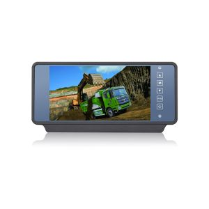 7 Inch Rearview Mirror Display Car Monitor with Touchscreen for Bus pictures & photos
