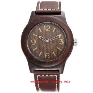 Simple Fashion Wooden Quartz Movement Watch Fs448 pictures & photos