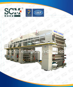 High Speed Plastic Film Roll Solvent Base Dry Lamination Machine