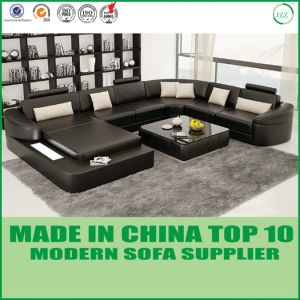 Modern Furniture Living Room Leather Sofa (H2212) pictures & photos