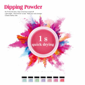 2017 Newest Nail Art DIP Powder for Powder Nail, Pink & White, More Color Avaiable pictures & photos