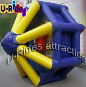 0.9mm PVC Tarpaulin Inflatable Wate Roller for Water Park pictures & photos