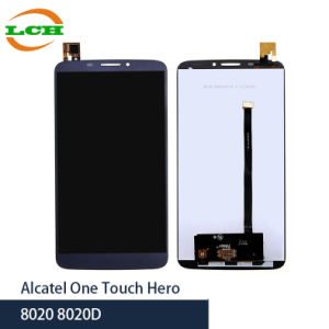 Mobile Phone LCD for Alcatel One Touch Hero Assembly Replacement pictures & photos