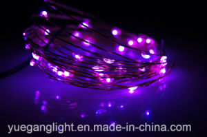 High Quality Wholesale Mini Copper Wire Micro-LED String Lights for Decoration pictures & photos