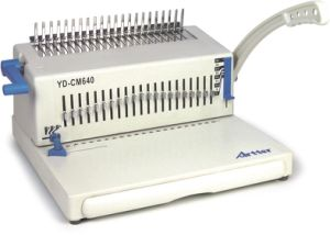 Comb Binding Machine (YD-CM640) pictures & photos