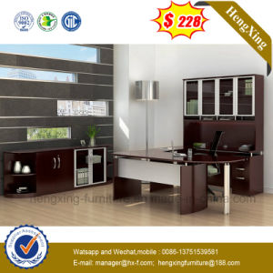 China Office Furniture L Shape Boss Executive Table (NS-ND107) pictures & photos