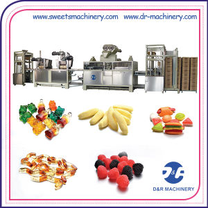 Kitchen Cooking System of Mogul Plant Jelly Candy Making Machine pictures & photos