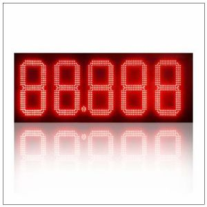 "16"" Waterproof Outdoor 8inch 7 Segment Gas Station LED Price Signs Board Petrol Stations for Sale pictures & photos"