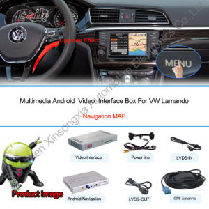 Android GPS Navigation System Video Interface for Volkswagen Lamando pictures & photos