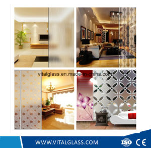 Safety Acid Etched Glass for Door pictures & photos