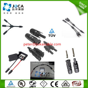 IP67 Mc4 Tyco Solar PV Cable Panel Connector pictures & photos