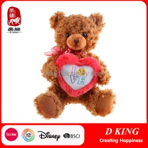 Wholesale Custom Plush Teddy Bears for Sale Gift Valentine with Emoji Heart pictures & photos