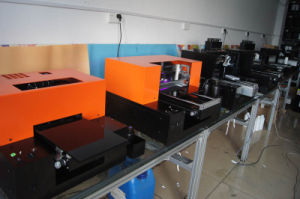 New Design 6 Multicolor LED Flatbed UV Printer for Phone Case/Glass/Ceramic/Wood/Plastic/Leather/PVC/Ktboard pictures & photos