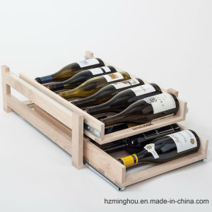 2 Layers Solid Wood Furniture Wood Drawer for Wine Storage pictures & photos
