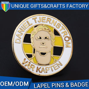 Customized Design Lapel Pins with Butterfly Clutch or Safety Clutch pictures & photos
