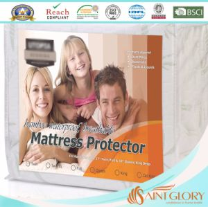 Bamboo Cooling Waterproof King Mattress Protector pictures & photos