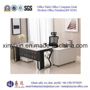 Chinese Wood Furniture Modern MFC Executive Office Desk (BF-026#) pictures & photos