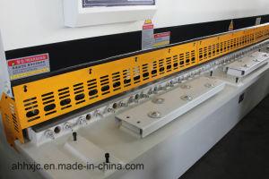 QC12k Huaxia Hydraulic CNC Swing Beam Shearing (cutting) Machine pictures & photos