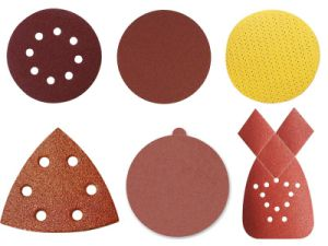Mouse Shaped Sanding Paper Abrasive Tools Abriasive Disc pictures & photos