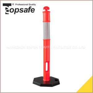 Orange Color PE Bollard on Sale (S-1422) pictures & photos