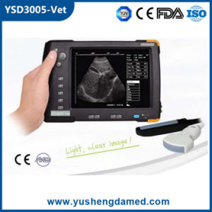 High Qualified Handheld Large Screen Medical Equipment Veterinary Ultrasound Scanner pictures & photos