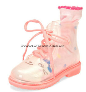 Children Rain Boots PVC Boots for Kid′s pictures & photos