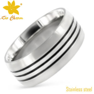Str-016 Fashion Artificial Ladies Stainless Steel Rings