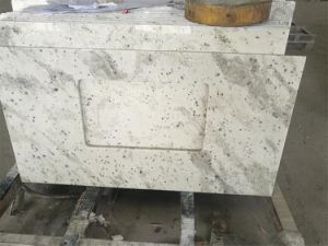 Andromeda White Granite Vanity Top and Countertop for Counter pictures & photos