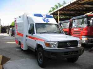 Toyota 4X4 Land Cruiser LC79 High Roof Diesel Rhd Box Ambulance pictures & photos