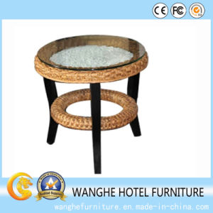 Outdoor Beach Rattan Furniture Small Tea Table pictures & photos