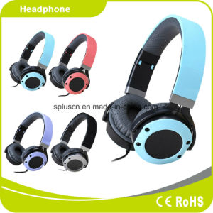 2017 New Style Metal Style Blue Headphone/Headset pictures & photos