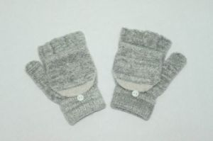 Winter Fingerless Women′s Knitting Gloves pictures & photos
