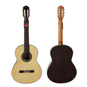 OEM Cheap Price Solid Spruce Top Vintage Classical Guitar pictures & photos