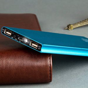 18650 2USB Portable Power Bank pictures & photos