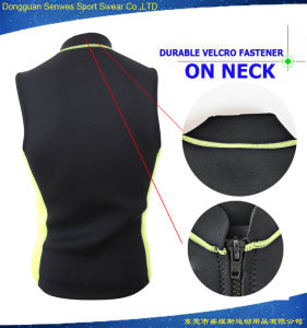 Men Neoprene Vest Tank Tops Snorkeling Surfing Jacket