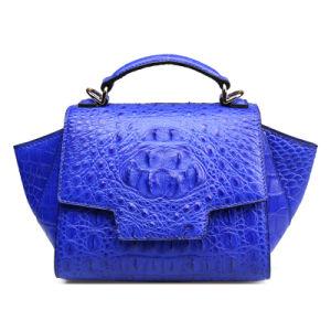 Lady Designer Handbag Crocodile Leather Custom Made Fashion Evening Bag pictures & photos