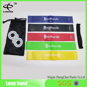 Power Flat Yoga Belt Customized Sport Exercise Loop Resistance Bands pictures & photos