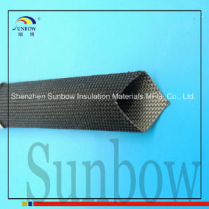 Sunbow High Temperature Resistant Uncoated Fiberglass Sleeving pictures & photos