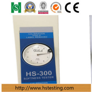 OEM China Pointer Type Textile and Leather Softness Tester pictures & photos