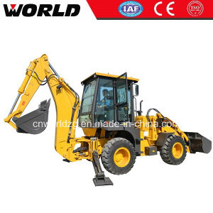 0.3cbm Backhoe, Articulated Backhoe Loader pictures & photos