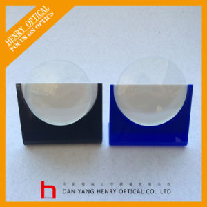 Semifinished 1.61 75mm Asp Single Vision Optical Lens Hmc pictures & photos