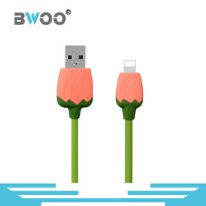 Special Colorful Rose USB Data Cable for Lightning /Micro pictures & photos