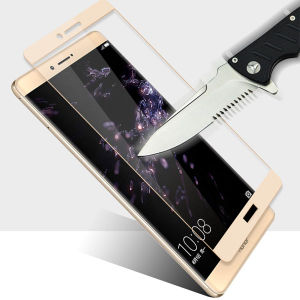 HD Anti Fingerprint Silk-Screen Printing Tempered Glass Film for Huawei Note8 pictures & photos