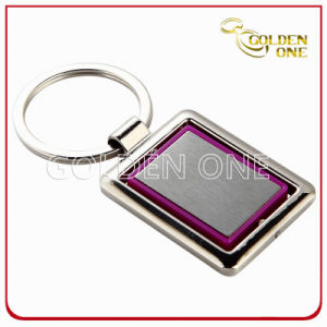 Factory Supply Nickel Plated Rotating Metal Keyholder pictures & photos